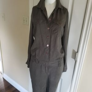 Cassis Jumpsuit army style